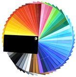 Multicolor palette Royalty Free Stock Photography