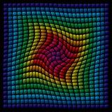 Multicolor panel. Multicolor mosaic panel (vector enable royalty free illustration