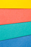 Multicolor paper backdrop Stock Photos