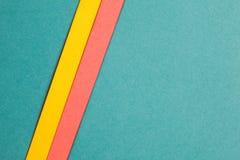 Multicolor paper backdrop Stock Image