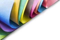 Multicolor paper Royalty Free Stock Images