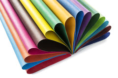 Multicolor paper Stock Photos