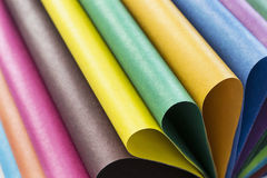 Multicolor paper Stock Photography