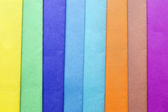 Multicolor paper Stock Image