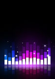 Multicolor Party Music Equalizer Stock Photography