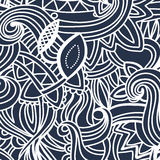 Multicolor Pattern Doodles- Decorative Sketchy Royalty Free Stock Photography