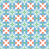 Multicolor pattern. Multicolor seamless vector background for retro design Royalty Free Stock Photo