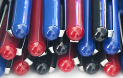 Multicolor pen. Some Multicolor pen for background royalty free stock photo