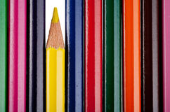 Multicolor pencils Royalty Free Stock Photography