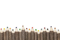 Multicolor Pencils 3 Stock Photo