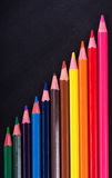 Multicolor pencils for drawing Stock Image
