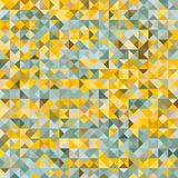 Multicolor polygonal background consists of squares divided into triangles. Bright multicolor polygonal background consists of squares divided into triangles Stock Image