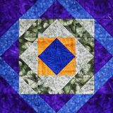 Multicolor Quilt Square Royalty Free Stock Photo