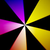 Multicolor radial pattern abstract background royalty free illustration