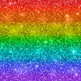 Multicolor rainbow glitter background. Vector