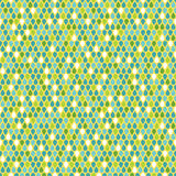 Multicolor raindrops seamless pattern royalty free illustration