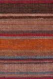 Multicolor randig textil för hög upplösning Royaltyfri Fotografi