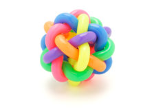 Multicolor rings ball Royalty Free Stock Images