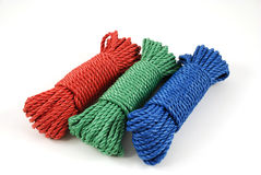 Multicolor rope Stock Images