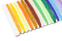 multicolor sömnadtrådar Royaltyfria Bilder