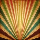 Multicolor słońce promień lub, słońce wybuchu retro kanwa Zdjęcia Royalty Free