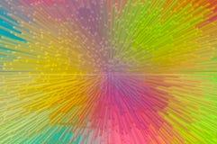 Multicolor saca el fondo abstracto foto de archivo libre de regalías