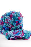Multicolor scarf Stock Photo