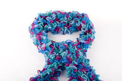 Multicolor scarf Royalty Free Stock Photo