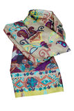 Multicolor scarf Royalty Free Stock Image