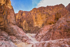 Multicolor and scenic Black Canyon Royalty Free Stock Image