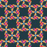 Multicolor seamless pattern abstract background Stock Photography