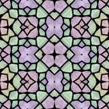 Multicolor seamless pattern kaleidoscope vector illustration
