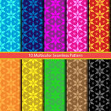 Multicolor seamless vector pattern. Multicolor seamless pattern. vector illustration Stock Photos