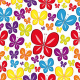 multicolor seamless wallpaper Royaltyfri Foto