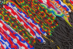 Multicolor shoelaces Royalty Free Stock Image