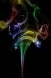 Multicolor smoke Stock Photos