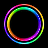 Multicolor spectral circle Stock Images