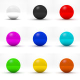 Multicolor spheres Royalty Free Stock Photos