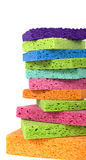 Multicolor Sponges Royalty Free Stock Images