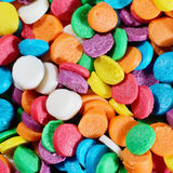 Multicolor sprinkles Stock Photo