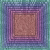 Multicolor square and frame background Royalty Free Stock Photography