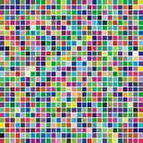 Multicolor square mosaic Royalty Free Stock Image