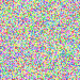 Multicolor square pixel mosaic background Royalty Free Stock Photo