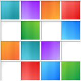 Multicolor squares Royalty Free Stock Photos