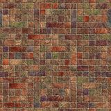Multicolor stone wall Stock Photos