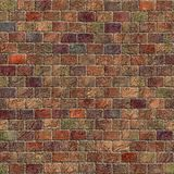 Multicolor stone wall Royalty Free Stock Photography