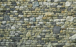 Multicolor stone wall texture Stock Photo