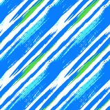 Multicolor striped pattern with diagonal lines Royalty Free Stock Image