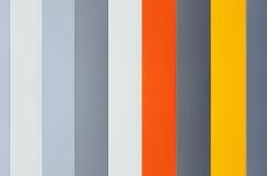 Multicolor stripy paneling Stock Photos