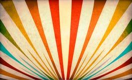 Multicolor Sunbeams grunge background vector illustration